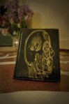 Project Transaction Leather skull wallet, $35