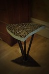 Owen Commons recycled metal Ohio table, $250