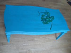 Green Leaf Coffee Table by Yabette