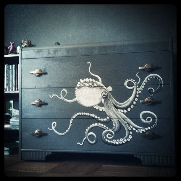 Pinterest loves Yabette's Octopus Dresser creation,