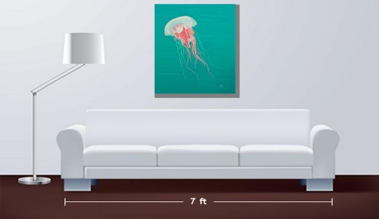 "Serenity 40x30"" high quality art print"