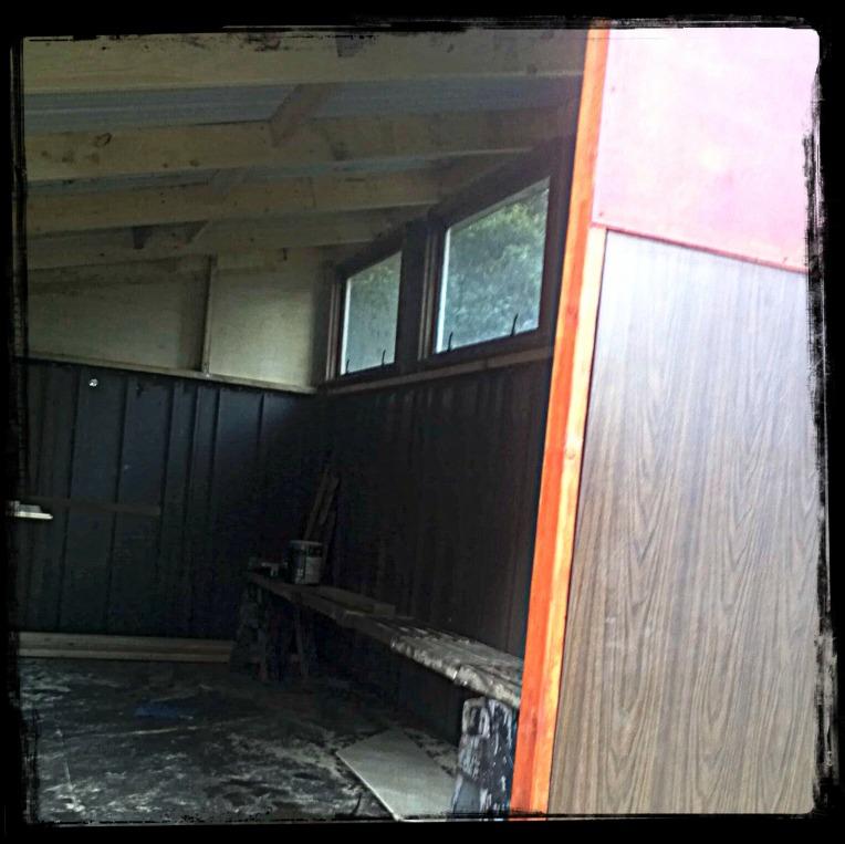 shed inside