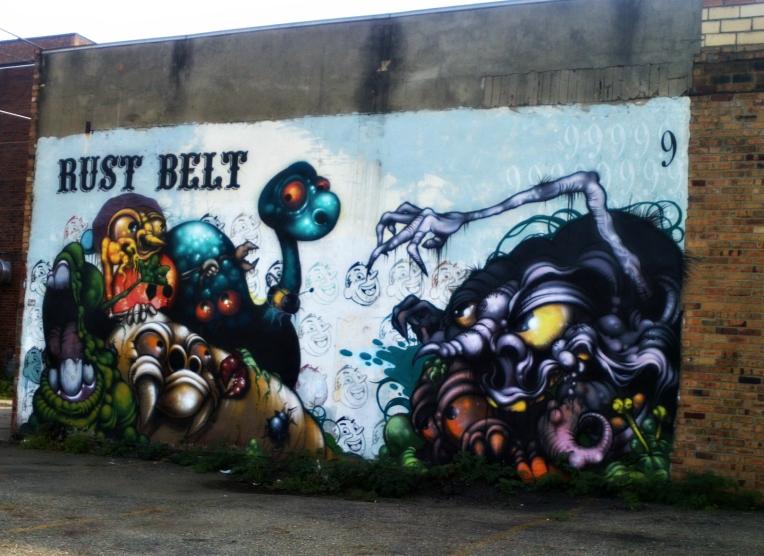 Canton, Ohio mural.