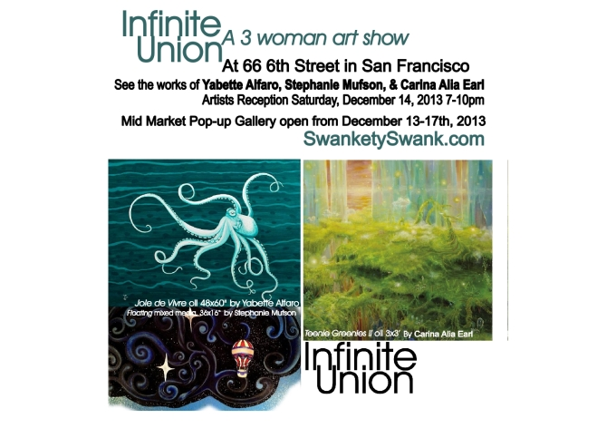 Infinite Union Artist Reception 12.14.13