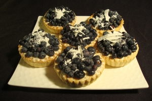 my favorite at Sweet Inspiration: Blueberry White Chocolate Tart- sweet and light!