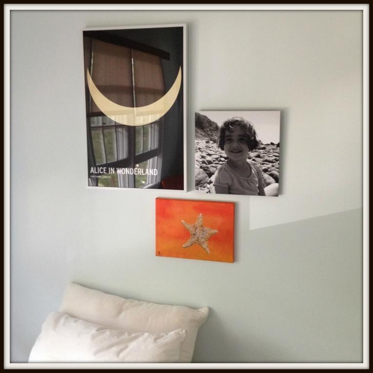"""""""Sea Star Fire"""" 9x12"""" with art arrangement"""