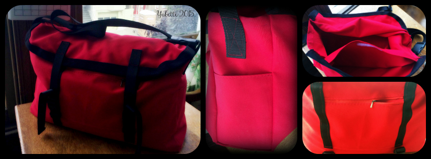 custom bag by Yabette