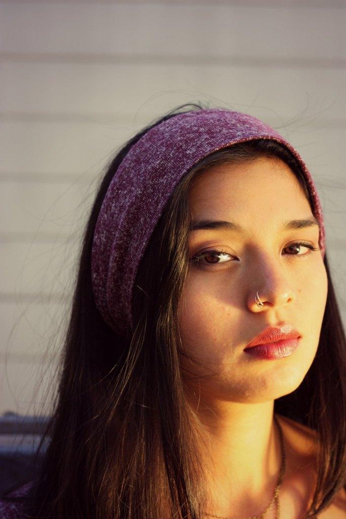 swankety swank hemp collection burgundy headband 3