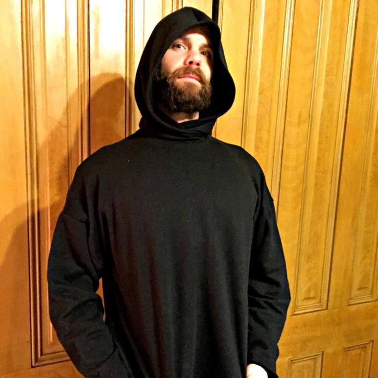 Bradley hooded tunic hood